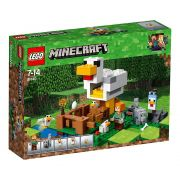 LEGO Minecraft - O Galinheiro - 198 Peças - 21140