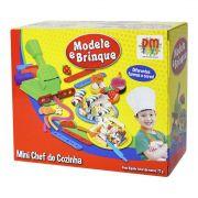 Massinha de Modelar Mini Chef de Cozinha - DMToys 4730