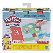 Massinha Play Doh Academy Números - Hasbro E3705