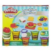 Massinha Play Doh Criações na Hora do Almoço - Hasbro