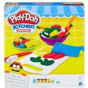 Massinha PlayDoh Cortes do Chef - Hasbro B9012