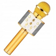 Microfone Infantil Karaokê Show Bluetooth Amarelo - Toyng