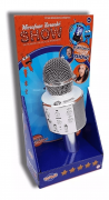 Microfone Infantil Karaokê Show Com Bluetooth - Toyng