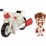 Mini Figura Toy Story 4 Duke Caboom e Moto de Manobra Mattel