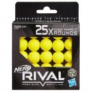 Nerf Rival Refil 25 Projéteis De Alto Impacto - Hasbro B1589