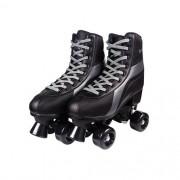 Patins Infantil Roller Skate 4 Rodas do 36-37 Preto - Fênix