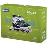Patins Roller Semi-Pro Ajustável do 34 A 37 Cinza - Mor