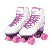 Patins Roller Skate 4 Rodas do 36-37 Branco - Fenix RL-04