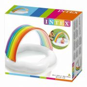 Piscina Banheira Infantil Nuvem Arco Iris 82L - Intex 57141