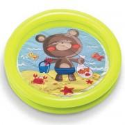 Piscina Infantil Inflável Baby 17L Verde - Intex 59409