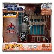 Playset e Mini Figura Colecionáveis - Nano Metals - Spider-Man - DTC