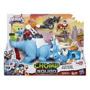 Playskool Boneco Triceratops E Sam Ciência - Hasbro E1976
