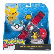 Pokemon Kit Cinturão De Ação Com Pokebolas - Tomy 1965