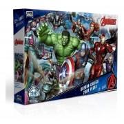 Quebra Cabeça 2000 Peças Marvel Os Vingadores - Toyster 2737