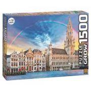 Quebra Cabeça Bruxelas 1500 Peças - Grow