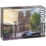 Quebra Cabeça Catedral de Notre Dame 2000 Peças - Grow