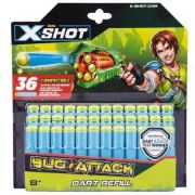 Refil de Dardos X-shot Bug Attack 36 Dardos - Candide