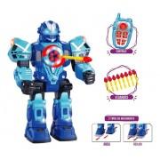 Robo Robot Fighting Lança Dardos Dança E Brilha - Polibrinq