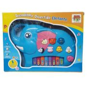 Teclado Infantil Musical De Brinquedo Elefante Dm Toys