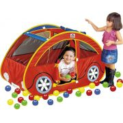 Tenda Barraca com 150 bolinhas Futoca Ball - Braskit