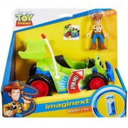 Toy Story Boneco Woody Carrinho Rc Buggy Imaginext - Gfr97