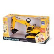 Brinquedo Trator Escavadeira Roma Workers