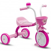 Triciclo Infantil You 3 Girl Rosa - Nathor