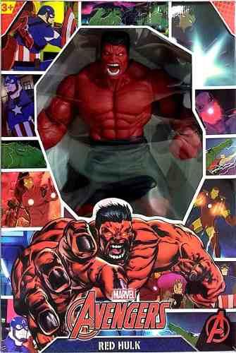 Boneco Hulk Vermelho Mimo Original  Revolution 45 cm