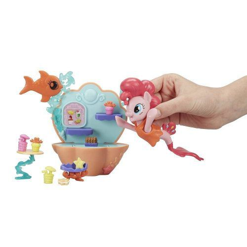 Boneca My Little Pony: O Filme - Pinkie Pie Spa Submarino