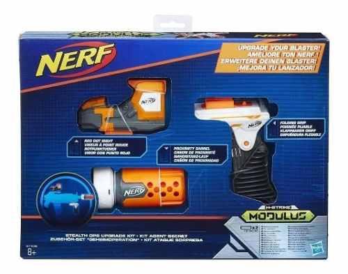 Kit Acessório Ataque Surpresa Nerf N Strike Modulus B1535 FULL