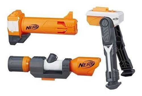 Nerf Kit Acessório Longo Alcance Hasbro Kit Upgrade - B1537 FULL