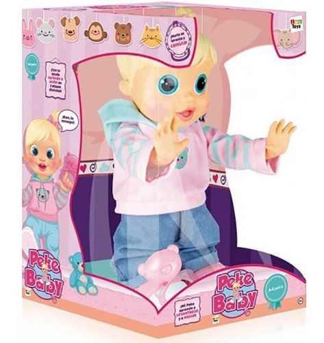 Boneca Baby Wow Malu Fala + De 100 Frases E Anda Multikids FULL