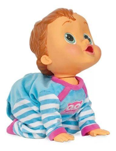 Baby Wow Boneca Que Engatinha E Fala - Multikids FULL