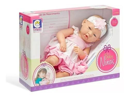 Boneca Baby Ninos Cotiplás FULL