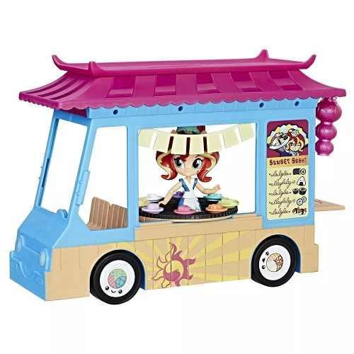 My Little Pony Equestria Girls Caminhãozinho De Sushi Hasbro