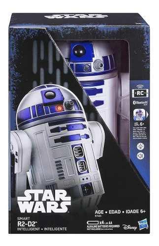Robô R2-d2 Star Wars Hasbro Bluetooth - B7493 FULL
