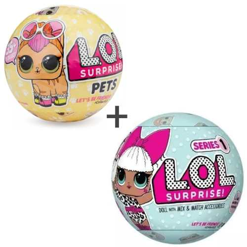 Lol Kit Surprise Serie 1 + Lol - Pets - Série 3 Candide