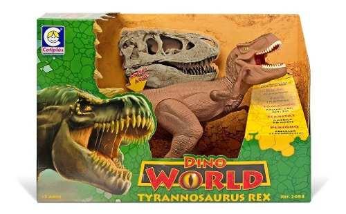 Dinossauro Rex De Brinquedo Cotiplás - 2088 FULL