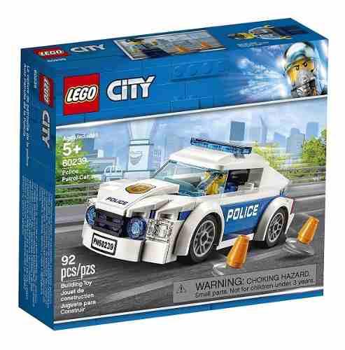 Lego City 92 Peças - Carro Patrulha Da Polícia - 60239 FULL