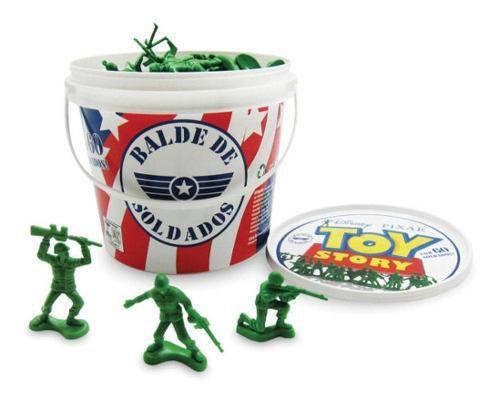 LBalde De Soldinhos Com 60 Peças Toy Story - Toyng 26772 FULL
