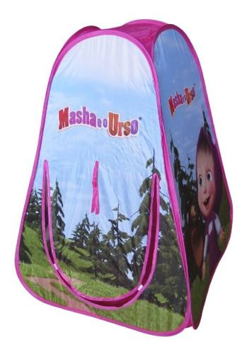 Barraca Tenda Da Masha E O Urso Portatil - Multikids Br1129 FULL