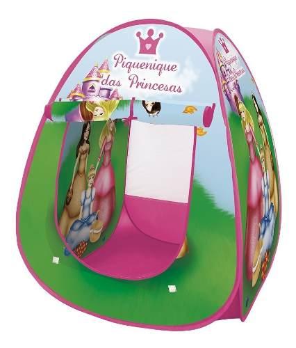 Barraca Infantil Portátil Princesas Meninas - Dm Toys