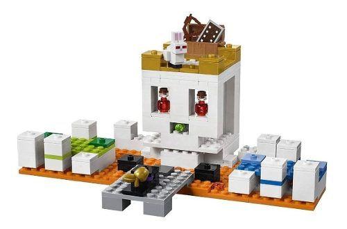 Lego Minecraft 21145 - A Arena Da Caveira - 198 Peças