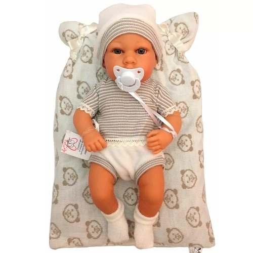 Bebe Reborn Boneco Baby Rick Elegance - Baby Brink