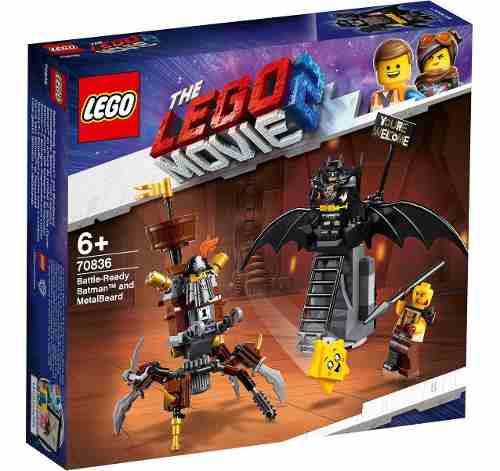 Lego Batman E Barba De Ferro Prontos Para Batalha -168 Peça FULL