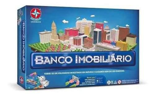 Jogo De Tabuleiro Banco Imobiliário Clássico C/ App- Estrela FULL