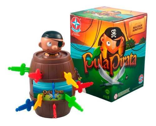 Jogo Pula Pirata Original - Estrela FULL