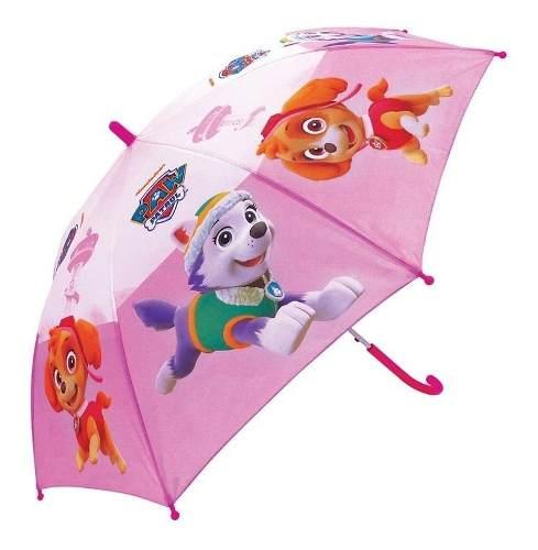 Guarda Chuva Infantil Patrulha Canina Skye Rosa - Zippy 5885 FULL
