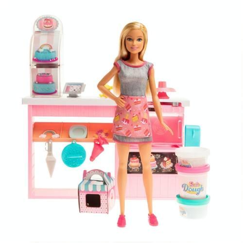 Barbie Cozinha Chef Dos Bolinhos Doces 30 Cm Mattel - Gfp59 FULL