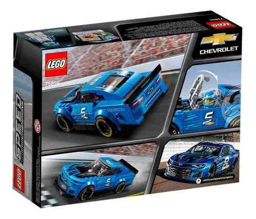 Lego Chevrolet Camaro Zl1 Speed Champions 198 Peças 75891 FULL